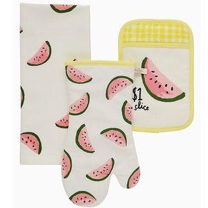 NWT Kate Spade Watermelon 3 Piece Set